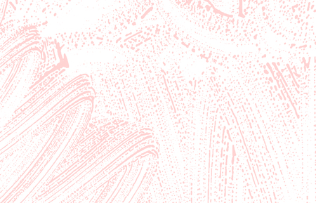 Grunge texture. Distress pink rough trace. Fascinating background. Noise dirty grunge texture. Fantastic artistic surface. Vector illustration. Illustration
