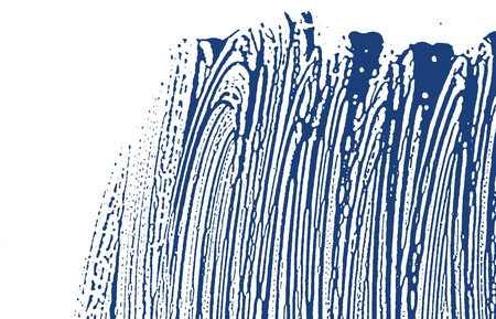 Grunge texture. Distress indigo rough trace. Elegant background. Noise dirty grunge texture. Sublime artistic surface. Vector illustration. Illusztráció