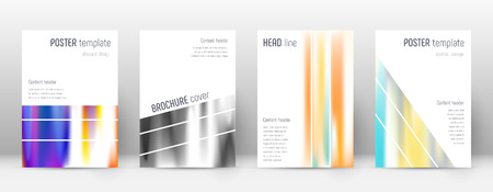 Flyer layout. Geometric great template for Brochure, Annual Report, Magazine, Poster, Corporate Presentation, Portfolio, Flyer. Alluring lines cover page.