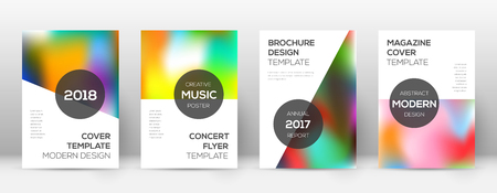 Flyer layout. Modern lively template for Brochure, Annual Report, Magazine, Poster, Corporate Presentation, Portfolio, Flyer. Attractive colorful cover page.