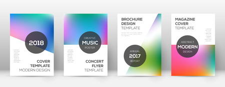 Flyer layout. Modern pretty template for Brochure, Annual Report, Magazine, Poster, Corporate Presentation, Portfolio, Flyer. Astonishing bright cover page.