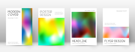 Flyer layout. Minimal exquisite template for Brochure, Annual Report, Magazine, Poster, Corporate Presentation, Portfolio, Flyer. Appealing colorful cover page.