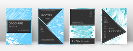 Cover page design template. Black brochure layout. Beautiful trendy abstract cover page. Pink and blue grunge texture background. Authentic poster. 向量圖像