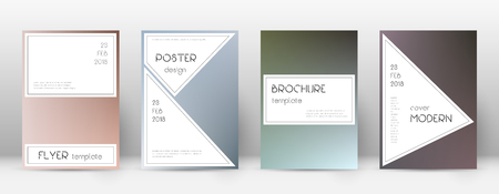 Flyer layout. Stylish alluring template for Brochure, Annual Report, Magazine, Poster, Corporate Presentation, Portfolio, Flyer. Awesome color transition cover page.