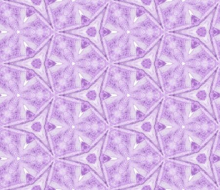 Purple spring allover seamless pattern. Hand drawn watercolor ornament. Perfect repeating tile. Artistic fabric cloth, swimwear design, wallpaper, wrapping.