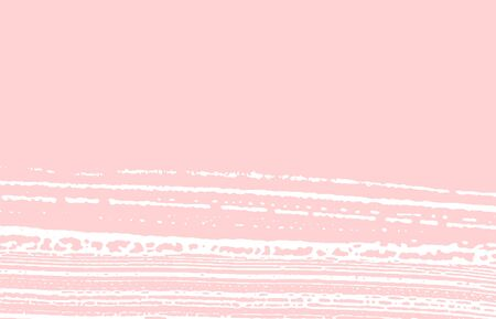 Grunge texture. Distress pink rough trace. Fresh background. Noise dirty grunge texture. Likable artistic surface. Vector illustration.