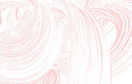 Grunge texture. Distress pink rough trace. Fantastic background. Noise dirty grunge texture. Beautiful artistic surface. Vector illustration.