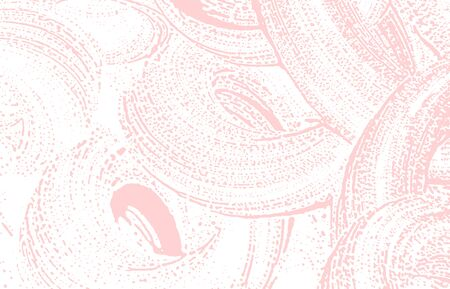 Grunge texture. Distress pink rough trace. Fascinating background. Noise dirty grunge texture. Dazzling artistic surface. Vector illustration. Illusztráció