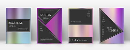 Flyer layout. Black flawless template for Brochure, Annual Report, Magazine, Poster, Corporate Presentation, Portfolio, Flyer. Actual color gradients cover page.