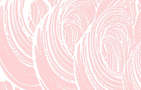Grunge texture. Distress pink rough trace. Flawless background. Noise dirty grunge texture. Beautiful artistic surface. Vector illustration. Illusztráció