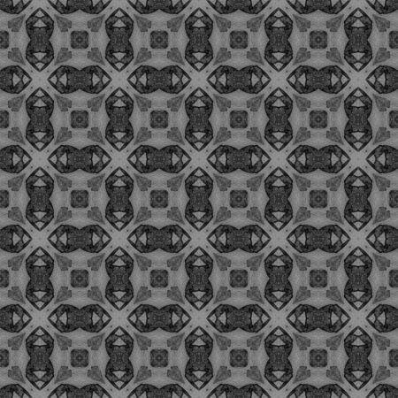 Black and white checked allover seamless pattern. Hand drawn watercolor ornament. Brilliant repeating design. Ravishing fabric cloth, swimwear design, wallpaper wrapping.