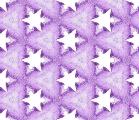 Purple spring allover seamless pattern. Hand drawn watercolor ornament. Perfect repeating tile. Captivating fabric cloth, swimwear design, wallpaper, wrapping.
