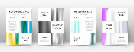 Flyer layout. Business shapely template for Brochure, Annual Report, Magazine, Poster, Corporate Presentation, Portfolio, Flyer. Adorable lines cover page.