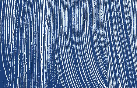 Grunge texture. Distress indigo rough trace. Extraordinary background. Noise dirty grunge texture. Ecstatic artistic surface. Vector illustration.