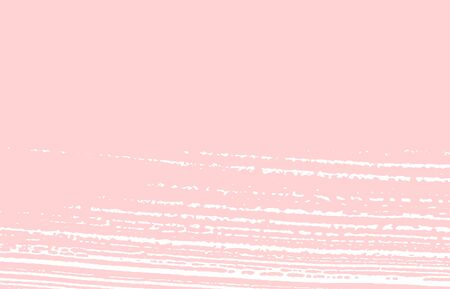 Grunge texture. Distress pink rough trace. Fresh background. Noise dirty grunge texture. Immaculate artistic surface. Vector illustration.