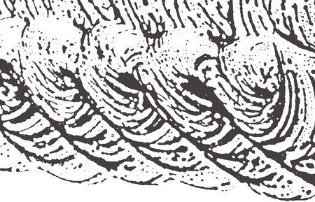 Grunge texture. Distress black grey rough trace. Adorable background. Noise dirty grunge texture. Artistic artistic surface. Vector illustration. Ilustração