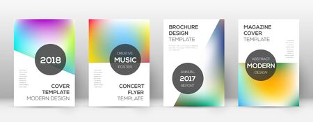 Flyer layout. Modern powerful template for Brochure, Annual Report, Magazine, Poster, Corporate Presentation, Portfolio, Flyer. Astonishing bright cover page.