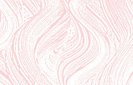 Grunge texture. Distress pink rough trace. Fascinating background. Noise dirty grunge texture. Interesting artistic surface. Vector illustration.