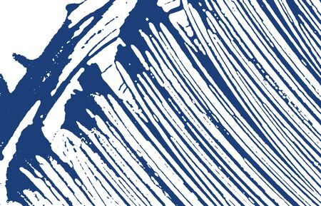 Grunge texture. Distress indigo rough trace. Delicate background. Noise dirty grunge texture. Pleasant artistic surface. Vector illustration.