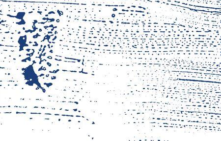 Grunge texture. Distress indigo rough trace. Emotional background. Noise dirty grunge texture. Splendid artistic surface. Vector illustration. Foto de archivo - 133735416