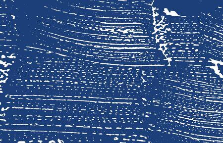 Grunge texture. Distress indigo rough trace. Extra background. Noise dirty grunge texture. Stylish artistic surface. Vector illustration. Illusztráció