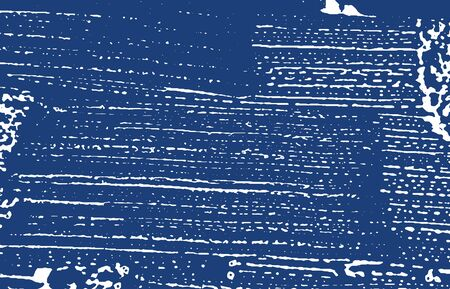 Grunge texture. Distress indigo rough trace. Extra background. Noise dirty grunge texture. Rare artistic surface. Vector illustration.