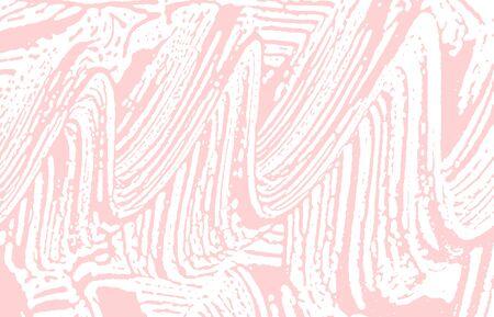 Grunge texture. Distress pink rough trace. Fabulous background. Noise dirty grunge texture. Sublime artistic surface. Vector illustration. Illusztráció