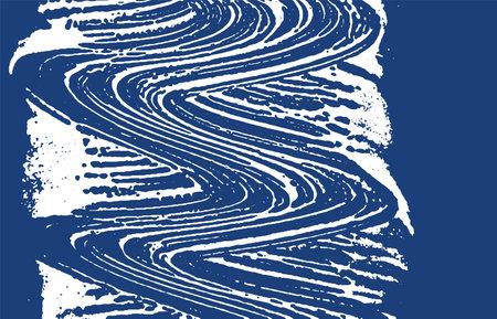 Grunge texture. Distress indigo rough trace. Excellent background. Noise dirty grunge texture. Beauteous artistic surface. Vector illustration.