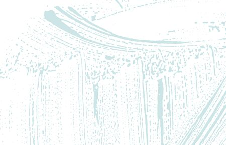 Grunge texture. Distress blue rough trace. Brilliant background. Noise dirty grunge texture. Fabulous artistic surface. Vector illustration. Foto de archivo - 133736518