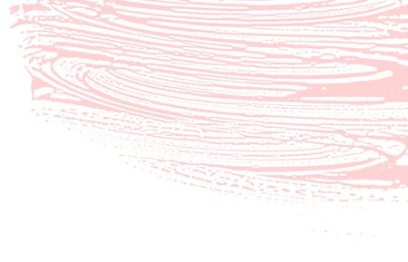 Grunge texture. Distress pink rough trace. Favorable background. Noise dirty grunge texture. Graceful artistic surface. Vector illustration. Illusztráció