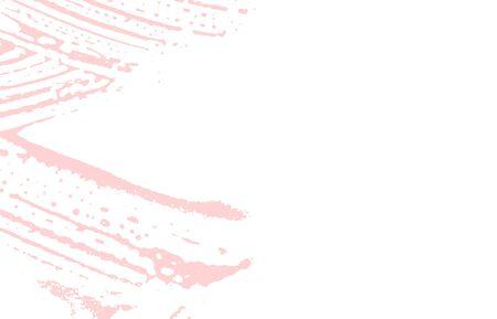 Grunge texture. Distress pink rough trace. Fair background. Noise dirty grunge texture. Wondrous artistic surface. Vector illustration. Illustration