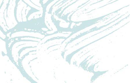 Grunge texture. Distress blue rough trace. Bizarre background. Noise dirty grunge texture. Graceful artistic surface. Vector illustration.