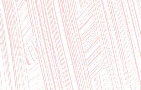 Grunge texture. Distress pink rough trace. Fine background. Noise dirty grunge texture. Powerful artistic surface. Vector illustration. Ilustração