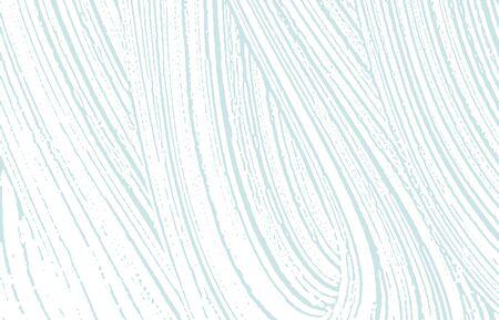 Grunge texture. Distress blue rough trace. Brilliant background. Noise dirty grunge texture. Resplendent artistic surface. Vector illustration. Ilustracja