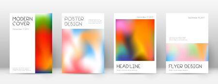 Flyer layout. Minimal flawless template for Brochure, Annual Report, Magazine, Poster, Corporate Presentation, Portfolio, Flyer. Appealing colorful cover page.