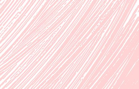Grunge texture. Distress pink rough trace. Glamorous background. Noise dirty grunge texture. Superb artistic surface. Vector illustration.