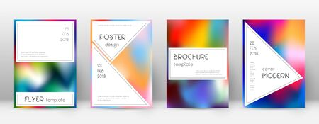 Flyer layout. Stylish brilliant template for Brochure, Annual Report, Magazine, Poster, Corporate Presentation, Portfolio, Flyer. Awesome colorful cover page. 일러스트