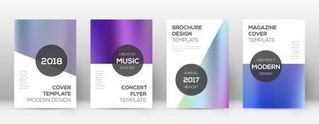 Flyer layout. Modern curious template for Brochure, Annual Report, Magazine, Poster, Corporate Presentation, Portfolio, Flyer. Attractive color gradients cover page.