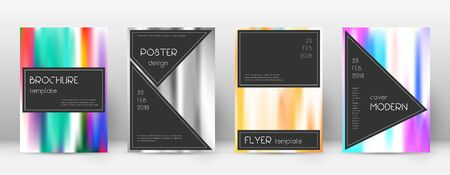 Flyer layout. Black exceptional template for Brochure, Annual Report, Magazine, Poster, Corporate Presentation, Portfolio, Flyer. Admirable lines cover page.