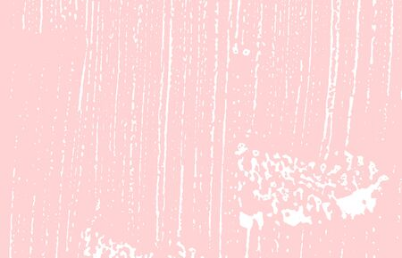 Grunge texture. Distress pink rough trace. Grand background. Noise dirty grunge texture. Fantastic artistic surface. Vector illustration.