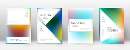 Flyer layout. Stylish flawless template for Brochure, Annual Report, Magazine, Poster, Corporate Presentation, Portfolio, Flyer. Authentic bright cover page.