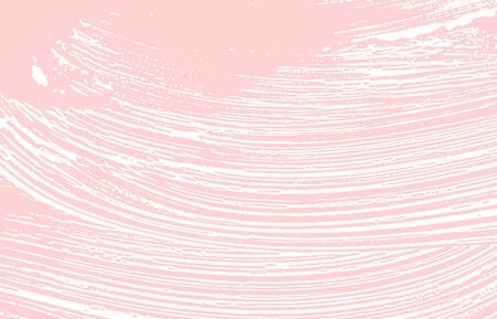 Grunge texture. Distress pink rough trace. Glamorous background. Noise dirty grunge texture. Juicy artistic surface. Vector illustration.