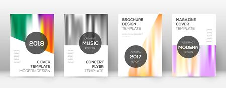 Flyer layout. Modern terrific template for Brochure, Annual Report, Magazine, Poster, Corporate Presentation, Portfolio, Flyer. Attractive lines cover page.