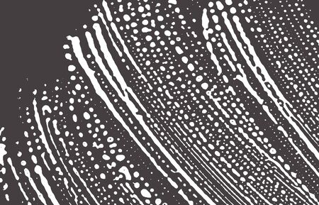 Grunge texture. Distress black grey rough trace. Artistic background. Noise dirty grunge texture. Unequaled artistic surface. Vector illustration.