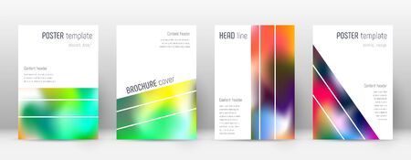 Flyer layout. Geometric charming template for Brochure, Annual Report, Magazine, Poster, Corporate Presentation, Portfolio, Flyer. Alluring colorful cover page.