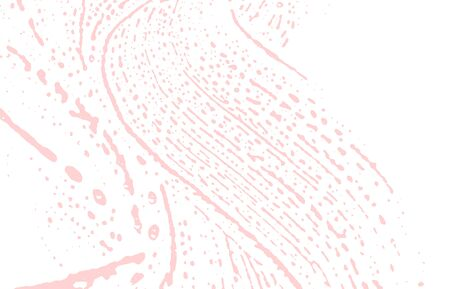 Grunge texture. Distress pink rough trace. Favorable background. Noise dirty grunge texture. Majestic artistic surface. Vector illustration.