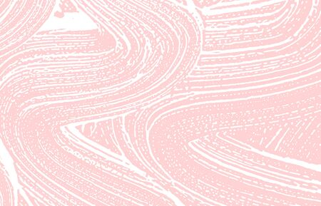 Grunge texture. Distress pink rough trace. Good-looking background. Noise dirty grunge texture. Incredible artistic surface. Vector illustration.