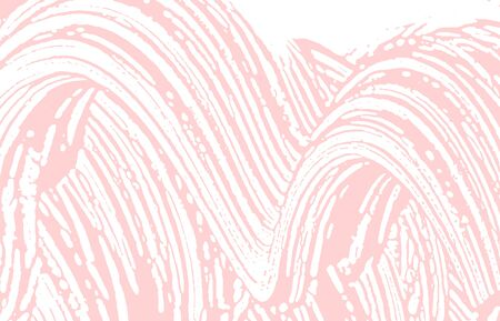 Grunge texture. Distress pink rough trace. Fair background. Noise dirty grunge texture. Remarkable artistic surface. Vector illustration.