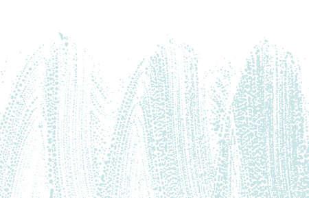 Grunge texture. Distress blue rough trace. Captivating background. Noise dirty grunge texture. Unequaled artistic surface. Vector illustration. Ilustração