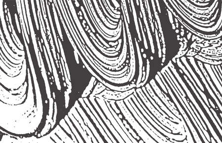 Grunge texture. Distress black grey rough trace. Alive background. Noise dirty grunge texture. Favorable artistic surface. Vector illustration.